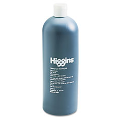 Higgins Waterproof Pigmented Drawing Ink, Black, 32 oz Bottle