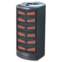 Holmes Ultra Quiet Ceramic Heater, 8-3/4 x 7-7/8 x 15, Dark Gray