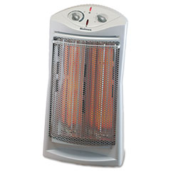 Holmes Prismatic Quartz Tower Heater w/Two Heat Settings, 14w x 9-3/4d x 24h