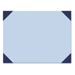 House of Doolittle Ecotones Desk Pad, 25-Sheet Pad, 22 x 17, Ocean Blue/Blue
