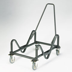 HON GuestStacker Cart, 21-3/8 x 35-1/2 x 37-7/8, Black