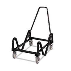 HON Olson Stacker Series Cart, 21-3/8 x 35-1/2 x 37, Black
