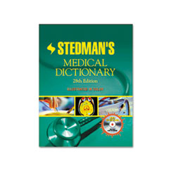 Houghton Mifflin Stedman's Medical Dictionary, Hardcover, 2,030 Pages