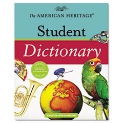 Houghton Mifflin American Heritage Student Dictionary, Hardcover, 1,088 Pages
