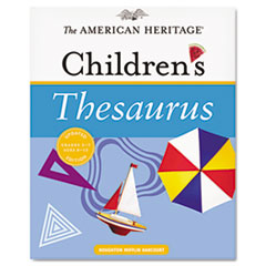 Houghton Mifflin American Heritage Children's Thesaurus, Hardcover, 288 Pages