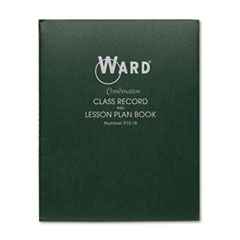 Ward Combination Record & Plan Book, 9-10 Weeks, 8 Periods/Day, 11 x 8-1/2