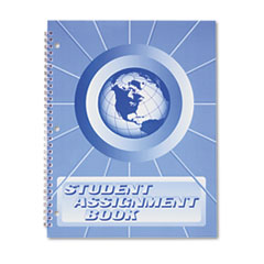 Ward Student Assignment Book, 40 Weeks, 11 x 8-1/2, Laminated Cover