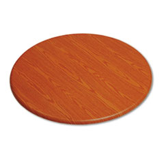 OfficeWorks Round Table Top, 42&quot; Diameter, Cherry