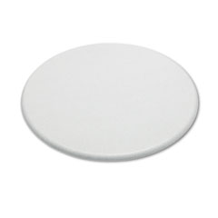 Officeworks Round Table Top, 36&quot; Diameter, Granite Gray
