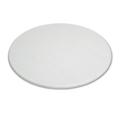 "OfficeWorks Round Table Top, 48"" Diameter, Gray Granite"