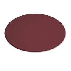 OfficeWorks Round Table Top, 48&quot; Diameter, Mahogany