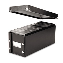 Snap-N-Store Media Storage Box, Holds 60 Slim/30 Std. Cases