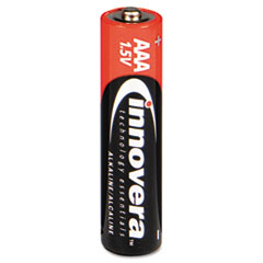 Innovera Alkaline Batteries, AAA, 8 Batteries/Pack