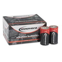 Innovera Alkaline Batteries, C, 12 Batteries/Pack