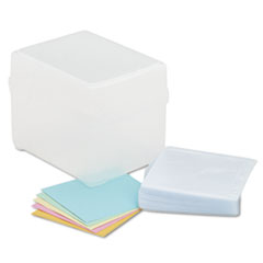 Innovera CD/DVD Storage Box, Holds 100 Discs