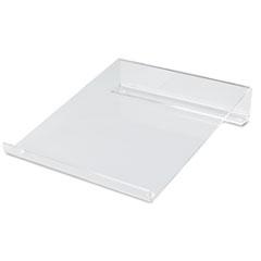 Innovera Multipurpose Acrylic Riser/Stand, Nonskid Pads, 9 x 11 x 2 1/4.