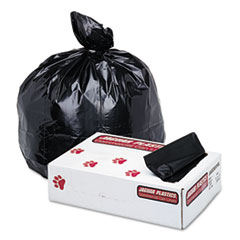 JAG G3858HBL Jaguar Plastics Industrial Strength Low-Density Commercial Can Liners JAGG3858HBL
