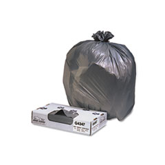 JAG G4347HBL Jaguar Plastics Industrial Strength Low-Density Commercial Can Liners JAGG4347HBL