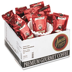 Distant Lands Coffee Coffee Portion Packs, 1-1/2 oz Packs, Colombian Decaf
