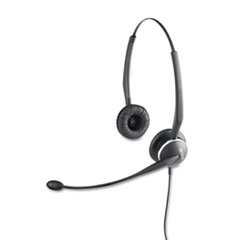 Jabra GN2120 Flex Binaural Over-the-Head Telephone Headset w/Noise Canceling Mic