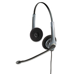 Jabra GN2025NCNB Flex Over-the-Head Standard Telephone Headset w/Noise Canceling Mic