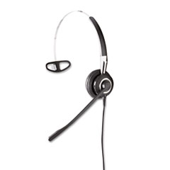 Jabra BIZ 2410 Monaural Over-the-Head Headset w/Omni-Directional Microphone