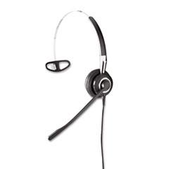 Jabra BIZ 2410 Monaural Over-the-Head Headset w/Omni-Directional Microphone