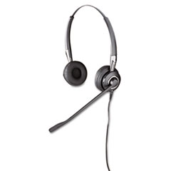 Jabra BIZ 2475 Binaural Over-the-Head Headset w/Ultra Noise Canceling Microphone