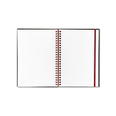 Poly Twinwire Notebook, Margin Rule, 5-7/8 x 8-1/4, White, 70 Sheets/Pad