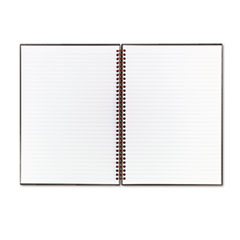 Twinwire Hardcover Notebook, Legal Rule, 8-1/2 x 11, White, 70 Sheets