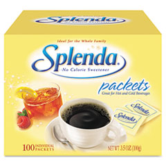 Splenda No Calorie Sweetener Packets, 100/Box