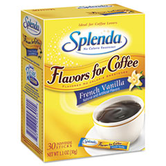Splenda Flavor Blends for Coffee, French Vanilla, Stick Packets, 30/Pack