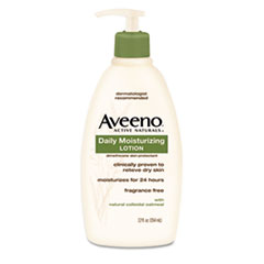 Aveeno Active Naturals Daily Moisturizing Lotion, 12oz Pump Bottle