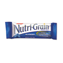 Nutri-Grain Cereal Bars, Blueberry, Indv Wrapped 1.3oz Bar, 16 Bars/Box