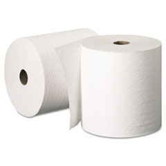 KIMBERLY-CLARK PROFESSIONAL* KLEENEX Hard Roll Towels, 8 x 425ft, White, 12 Rolls/Carton