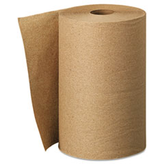 KIMBERLY-CLARK PROFESSIONAL* SCOTT Hard Roll Towels, 8 x 400', Natural, 12/Carton