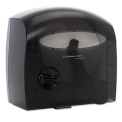 Kimberly-Clark Professional* Electronic Coreless JRT Tissue Dispenser, 12 3/5w x 6 7/8d x 13h, Smoke/Gray