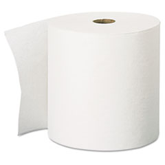 KIMBERLY-CLARK PROFESSIONAL* SCOTT High-Capacity Hard Roll Towels, 8 x 1000', White, 12/Carton