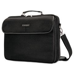 Kensington® CASE SP30 15.4 NOTEBK BK Simply Portable 30 Laptop Case, 15 3-4 X 3 X 13 1-2, Black