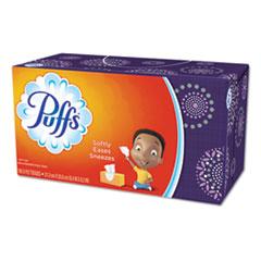 Puffs® TISSUE PUFFS BSC 180SH WH WHITE FACIAL TISSUE, 2-PLY, 180 SHEETS-BOX