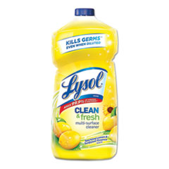 LYSOL® Brand CLEANER ALL PURPOSE YL CLEAN AND FRESH MULTI-SURFACE CLEANER, SPARKLING LEMON AND SUNFLOWER ESSENCE SCENT, 40 OZ BOTTLE