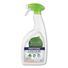 Seventh Generation® Professional CLEANER ALL PURP 32OZ ALL-PURPOSE CLEANER, FREE AND CLEAR, 32 OZ SPRAY BOTTLE