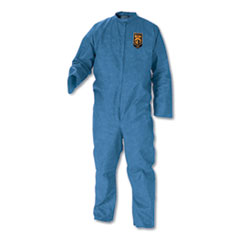 KleenGuard™ COVERALL 3XL BE A20 Breathable Particle Protection Coveralls, Blue, 3x-Large, 20-carton