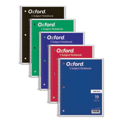 Oxford™-NOTEBOOK,1SUB,WIDE RL,WH