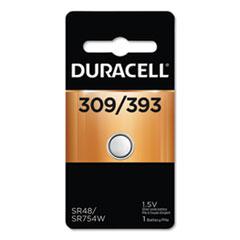 Duracell® BATTERY 309-393 SLVROXIDE BUTTON CELL BATTERY, 309-393, 1.5V