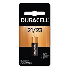 Duracell® BATTERY 21-23 SPECIALTY ALKALINE BATTERY, 21-23, 12V