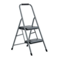 Louisville® STEPSTOOL BLCK-DECK 2S GY BLACK AND DECKER STEEL STEP STOOL, 2-STEP, 200 LB CAPACITY, GRAY