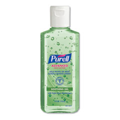 PURELL® SANITIZER PURELL ALOE ADVANCED SOOTHING GEL HAND SANITIZER, FRESH SCENT WITH ALOE AND VITAMIN E, FLIP-CAP BOTTLE, 4 OZ