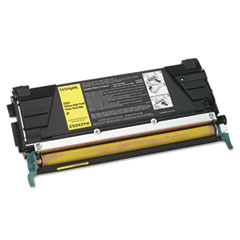 Lexmark C5242YH High-Yield Toner, 5000 Page-Yield, Yellow
