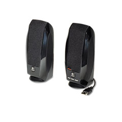 Logitech S150 Digital Speaker System, USB, Black